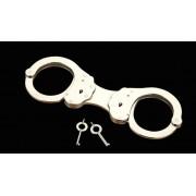 ALCYON - Handschellen Nr. 5050-R Starr vernickelt - LAGERWARE
