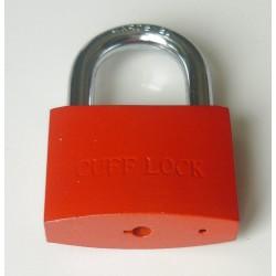 CUFF LOCK - CLOKRED Vorhängeschloss Padlock für Handschellen-Schlüssel rot - LAGERWARE