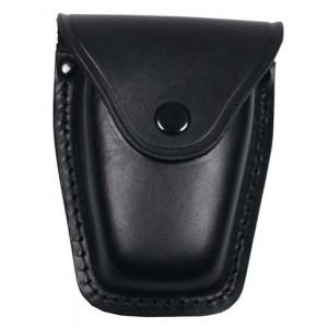 MFH 29643 Handschellentasche Leder schwarz - LAGERWARE
