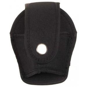 MFH 29663 Handschellentasche Nylon schwarz offen - LAGERWARE