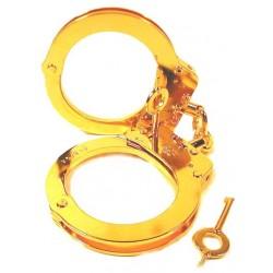 Zusatzoption: Handschellen vergolden mit 24 Karat Echtgold